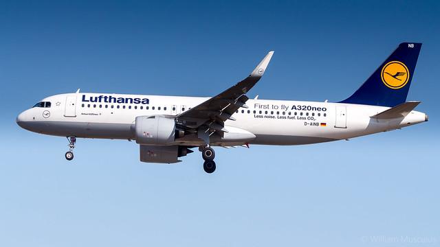 Airbus A320-271N D-AINB Lufthansa