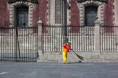 Street Cleaner, Mexico City