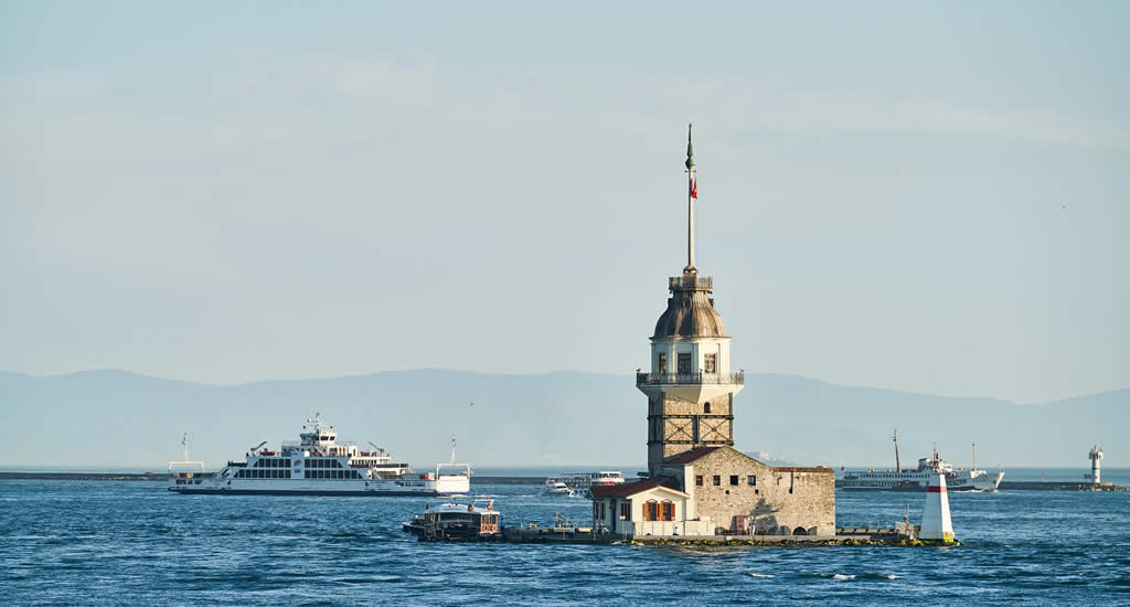 Bezienswaardigheden Istanbul: Leandertoren | Mooistestedentrips.nl