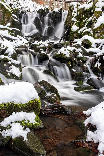 Teufelsmühle Wasserfall Rhön