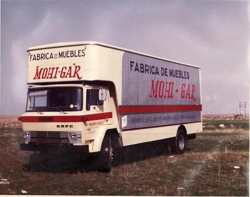 CAMIÓ EBRO P160 FÀBRICA DE MOBLES MOHI-GAR
