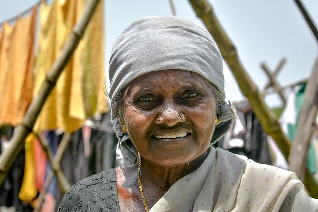 Inde - Veli  Kochi - Buanderie communautaire