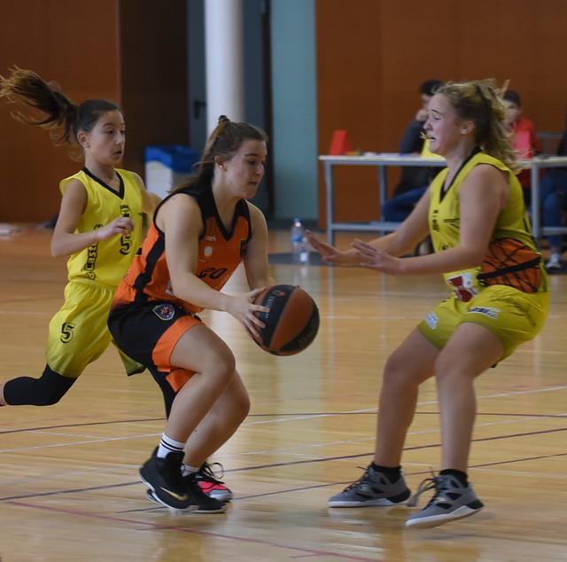 14.12.19 Cadet femení Taronja contra CB Castellet
