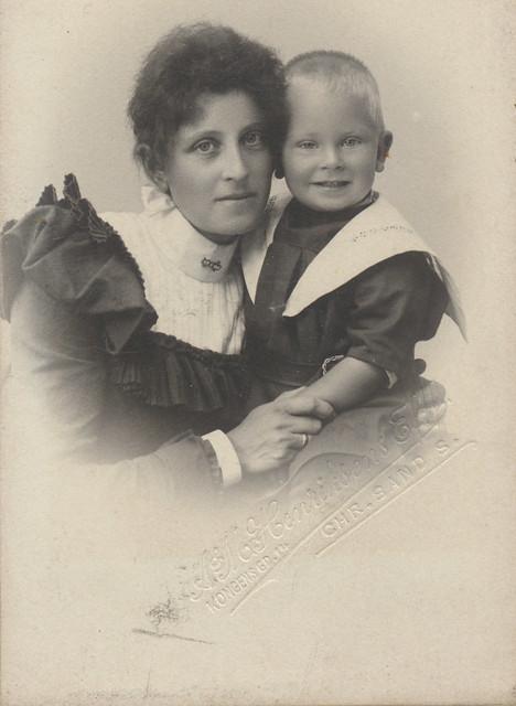 My great-grandmother 1899