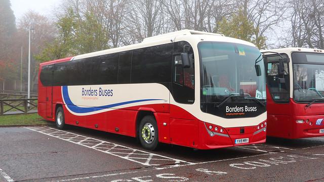 11907 YX19MRV Borders Buses