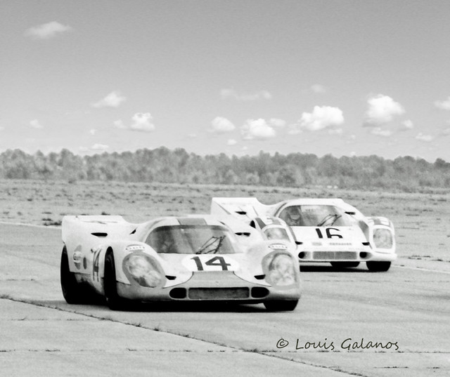 1970 Sebring  - Siffert - Elford Porsche 917's