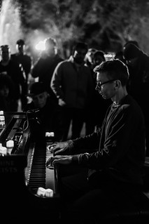 Pianist Central Park 2019