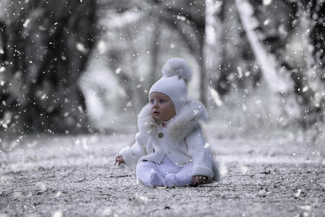 I'm dreaming of a white Christmas. Especially for our little Henry.