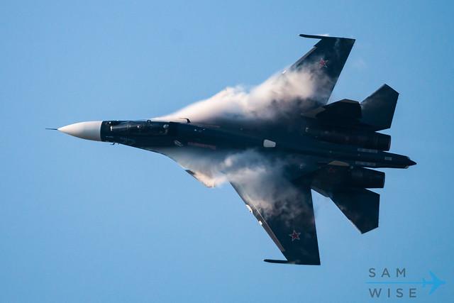 Russian Navy Su-30SM Flanker