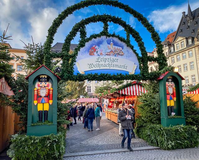 Leipzig Weihnachtsmarkt - Christmas Market - Leipzig Germany