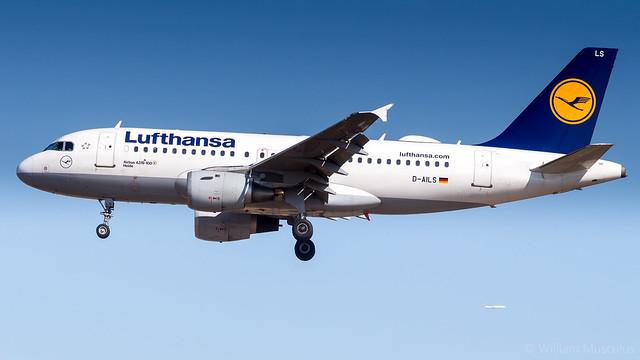 Airbus A319-114 D-AILS Lufthansa