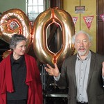 FoSHT 90 Simon Callow and Catherine Russell (Photo Jeremy Clyne)