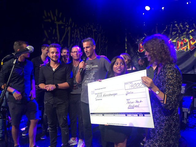 Spendenübergabe 2019 an den ASB Berlin