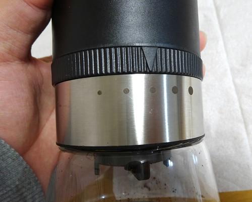電動臼式コーヒーミルG1 オーシャンリッチ UQ-ORG1BL レビュー
