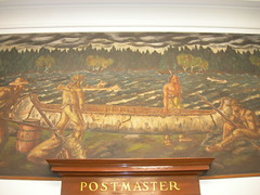 Dover-Foxcroft Maine Post Office Mural