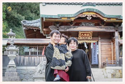 山口八幡社で七五三 愛知県瀬戸市 平日はすいててオススメ!