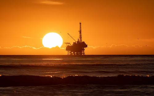 ucsb goleta santabarbara islavista twilight beach ocean santabarbarachannel platformholly sunset nikonfxshowcase