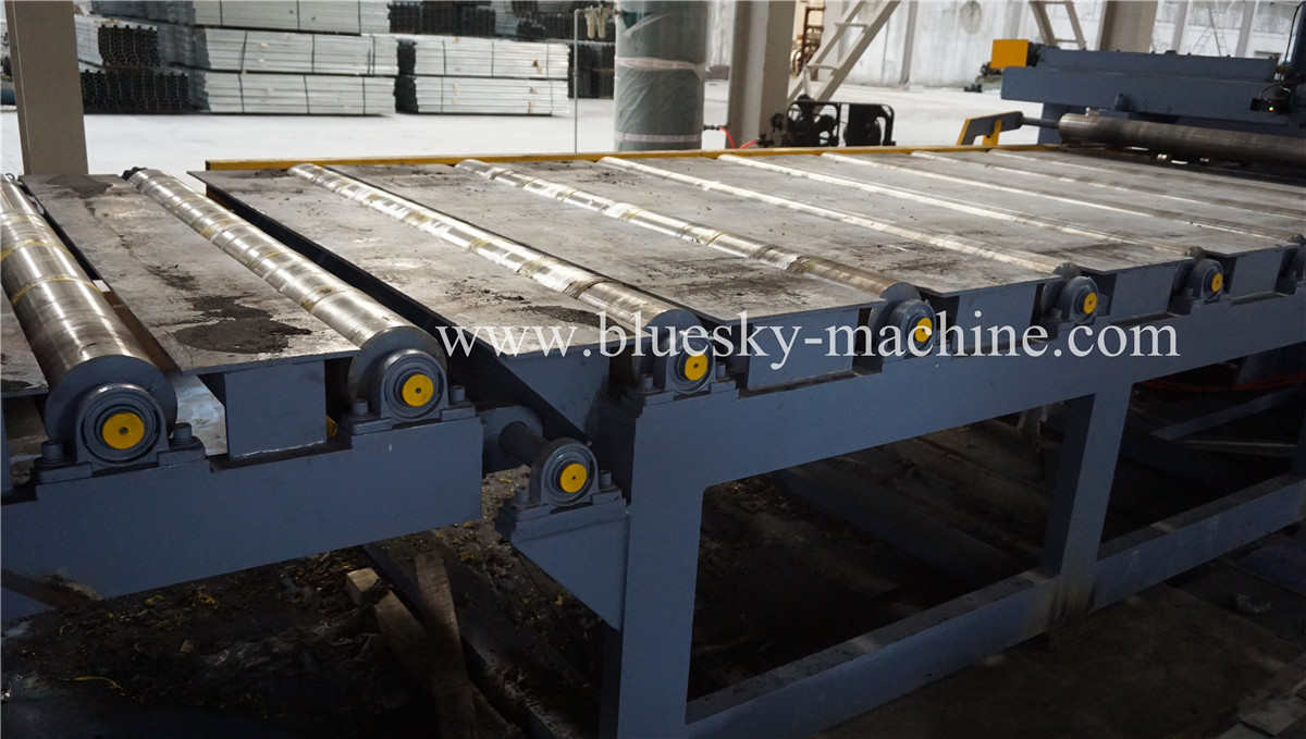 HR Sheet Cut To Length Line Conveyor