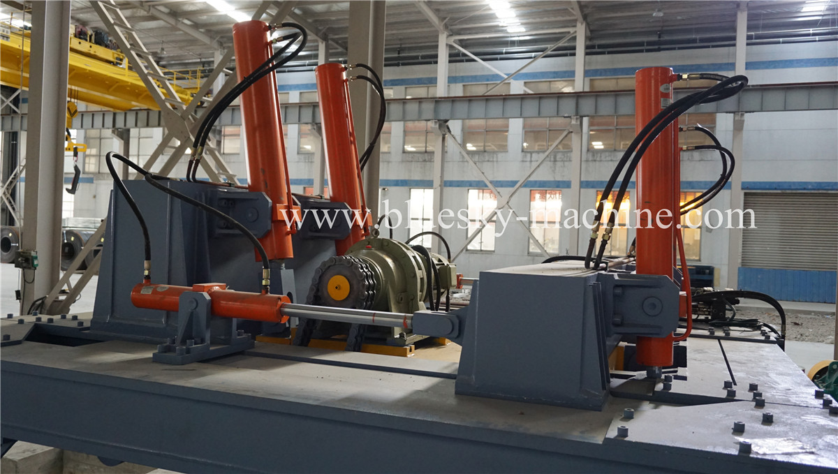 HR Sheet Cut To Length Line Hydraulic Uncoiler
