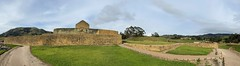 The Temple to the Sun God (el Templo del Sol), the Ingapirca Fortress is an Archaeological Complex (authentically Incan-Cañari construction) at 3,180 meters (10,433 ft) above sea level, Cañar Province, the Southern Highlands, Ecuador.