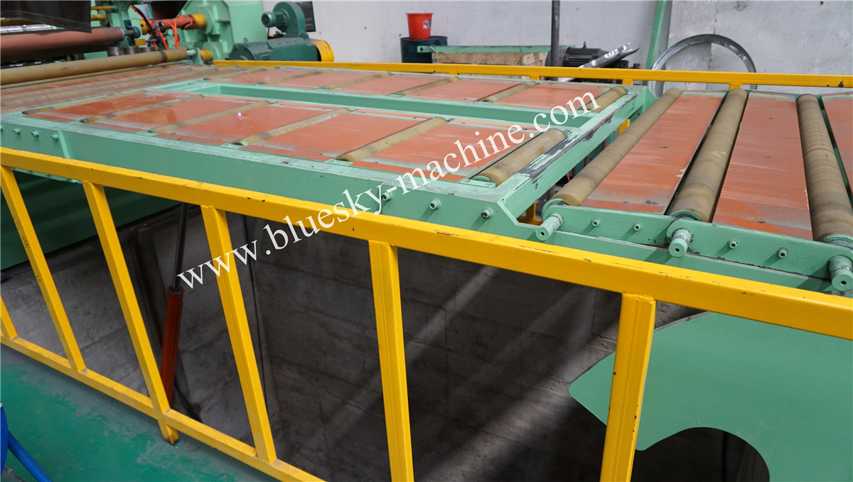 High Speed Stainless Steel Slitting Line Hydraulic Loop Pit Ⅰ
