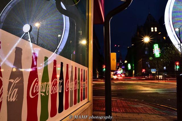 East parade Leeds, long exposure & reflection.