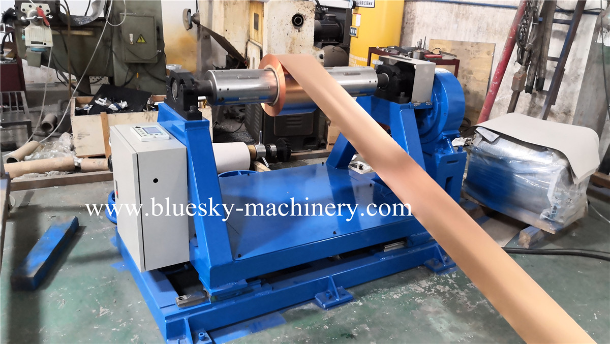 aluminum foil roll cutting machine