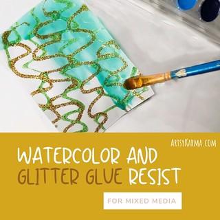 Step by step tutorial on my blog ArtsyKarma.com