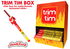 Junk Food - Trim Tim Box ad