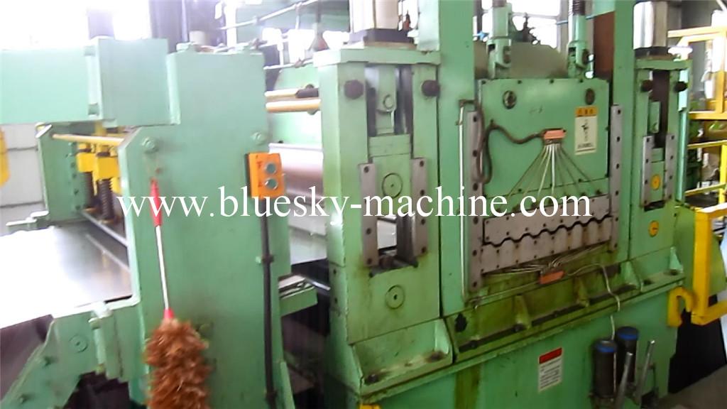 SS Slitting machine