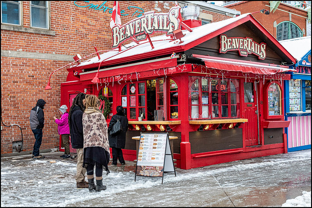 Beavertails on a Snowy Day