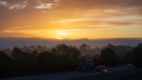 Morning Communte - Sunrise