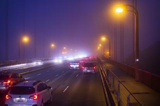 Morning Communte - Golden Gate Bridge