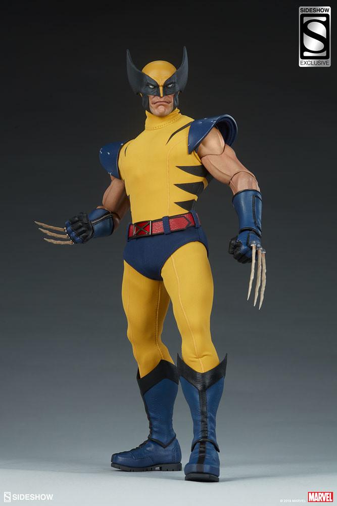 Sideshow Collectibles Marvel Comics【金鋼狼】Wolverine 1/6 比例人偶作品 普通版/EX版