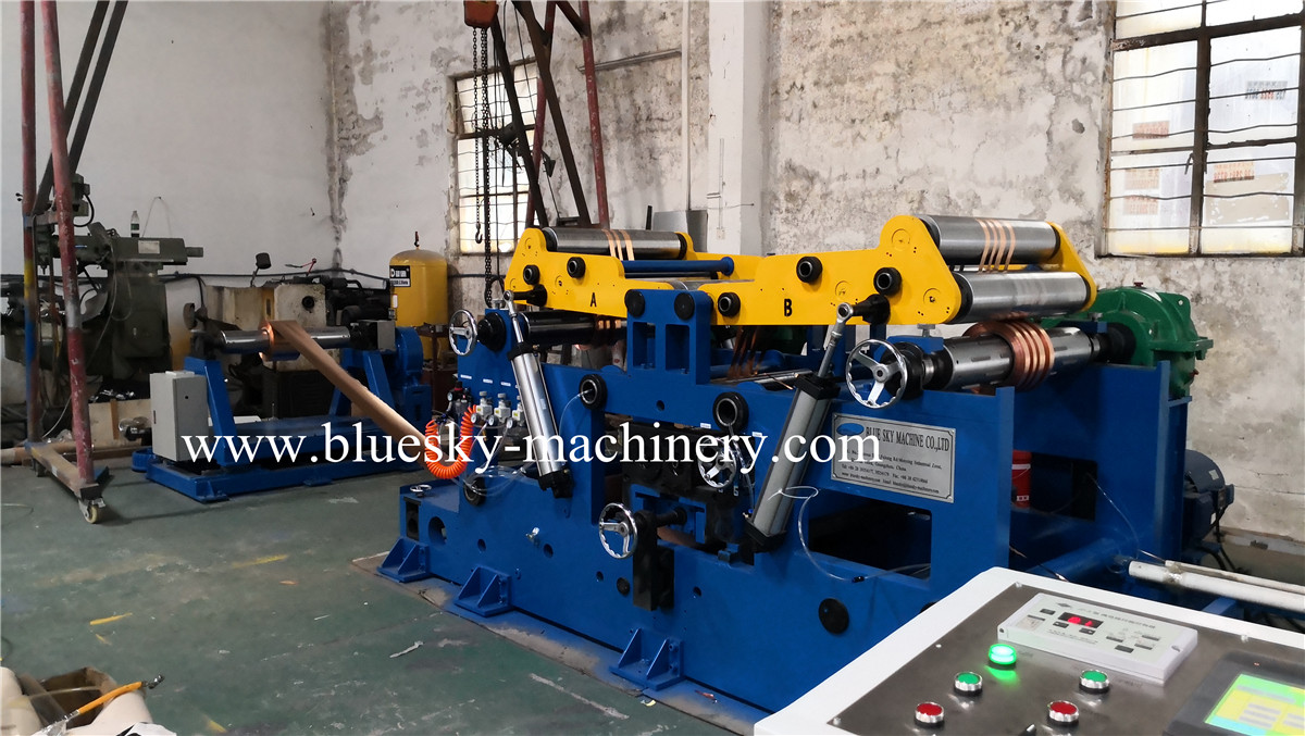 copper foil slitting machine