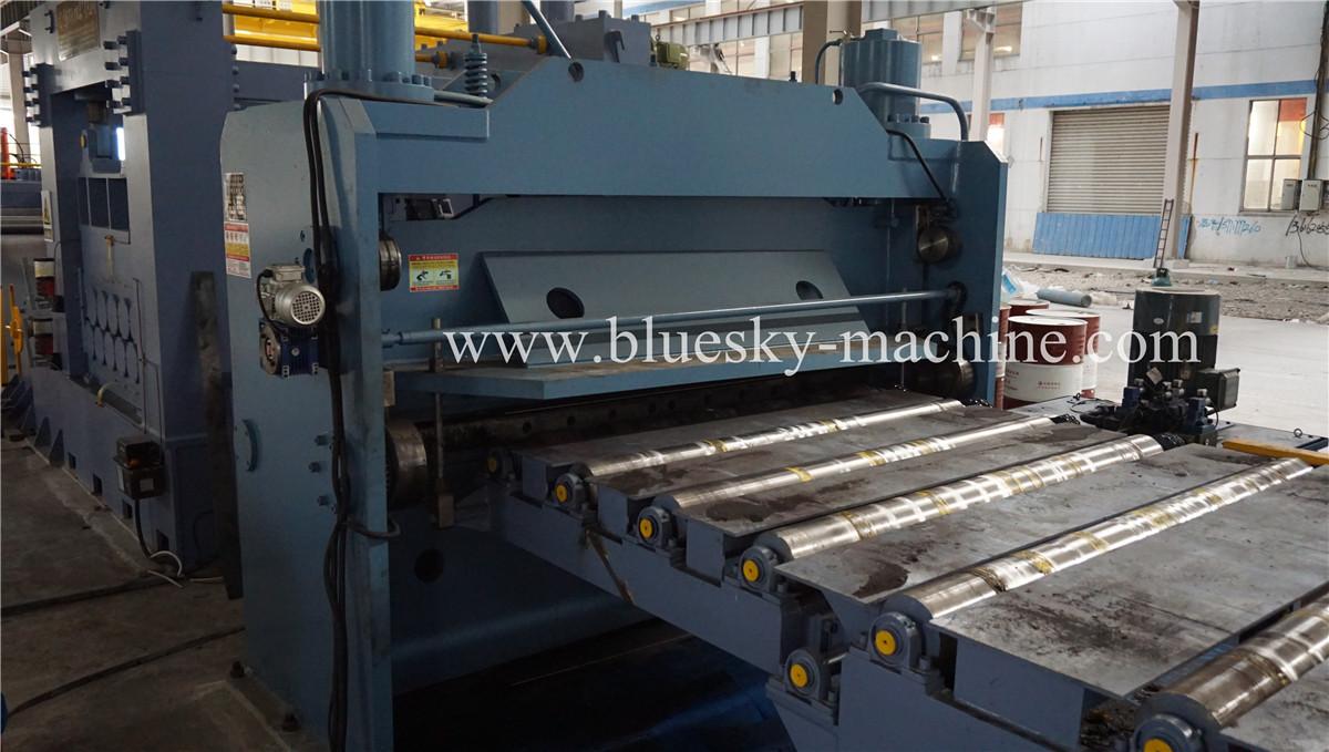 HR Sheet Cut To Length Line Hydraulic shearer