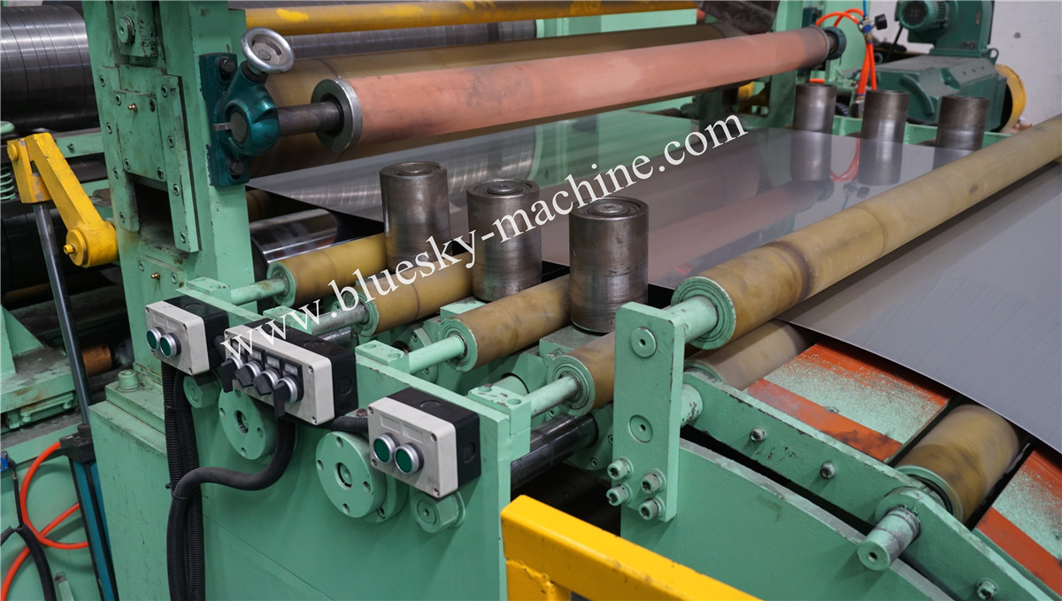 High Speed Stainless Steel Slitting Line Side Guide