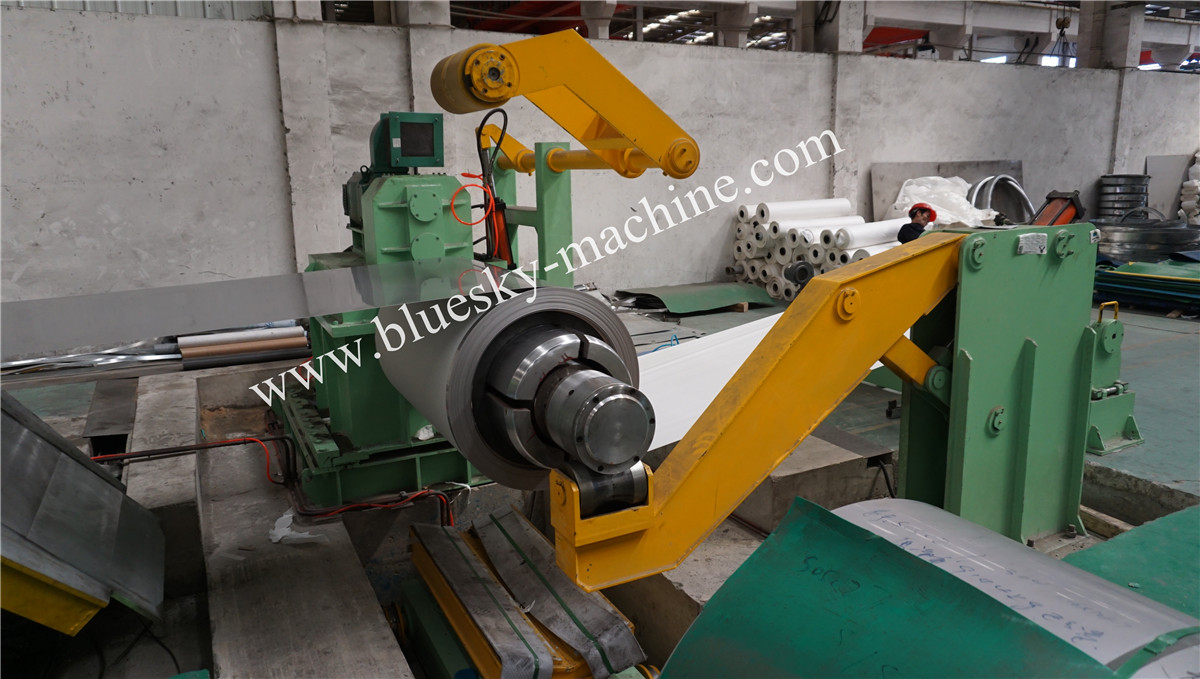 High Speed Stainless Steel Slitting machine Hydraulic Uncoiler