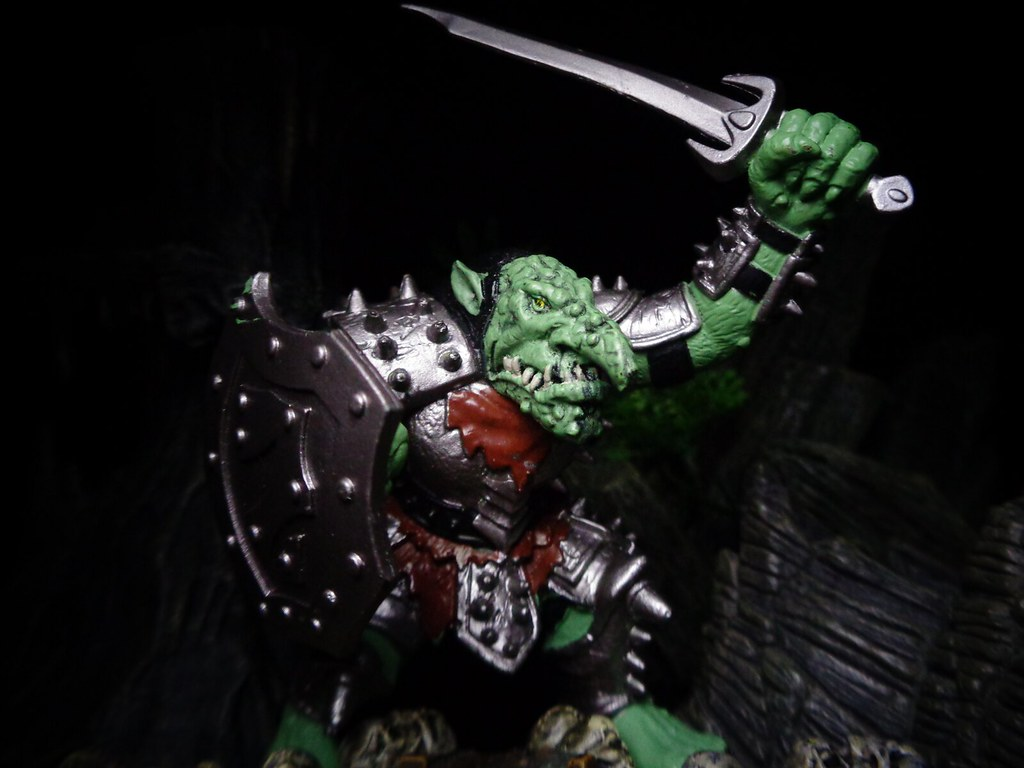 War Troll So You Take A Troll And Give Him Armor Weapons Flickr