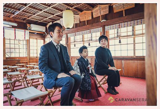 山口八幡社で七五三 ご祈祷場も撮影OK 愛知県瀬戸市