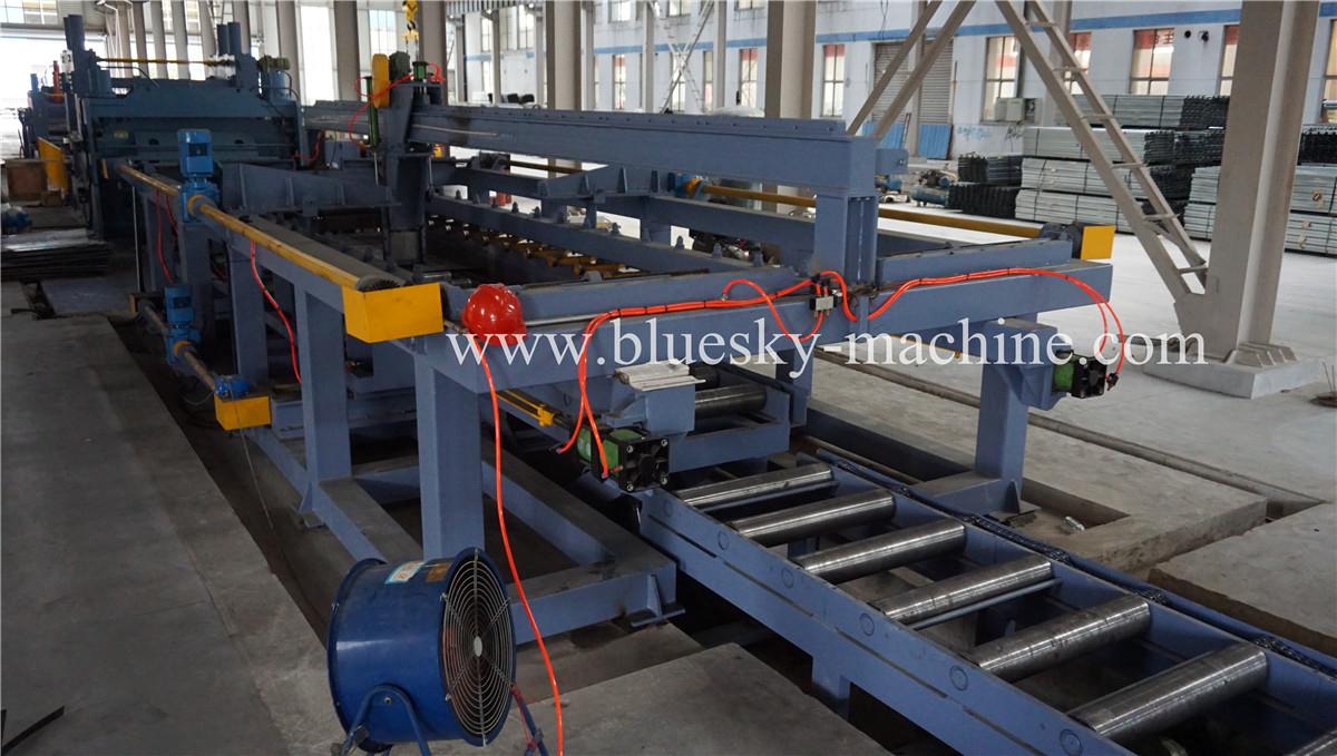 HR Sheet Cut To Length Line Material platform