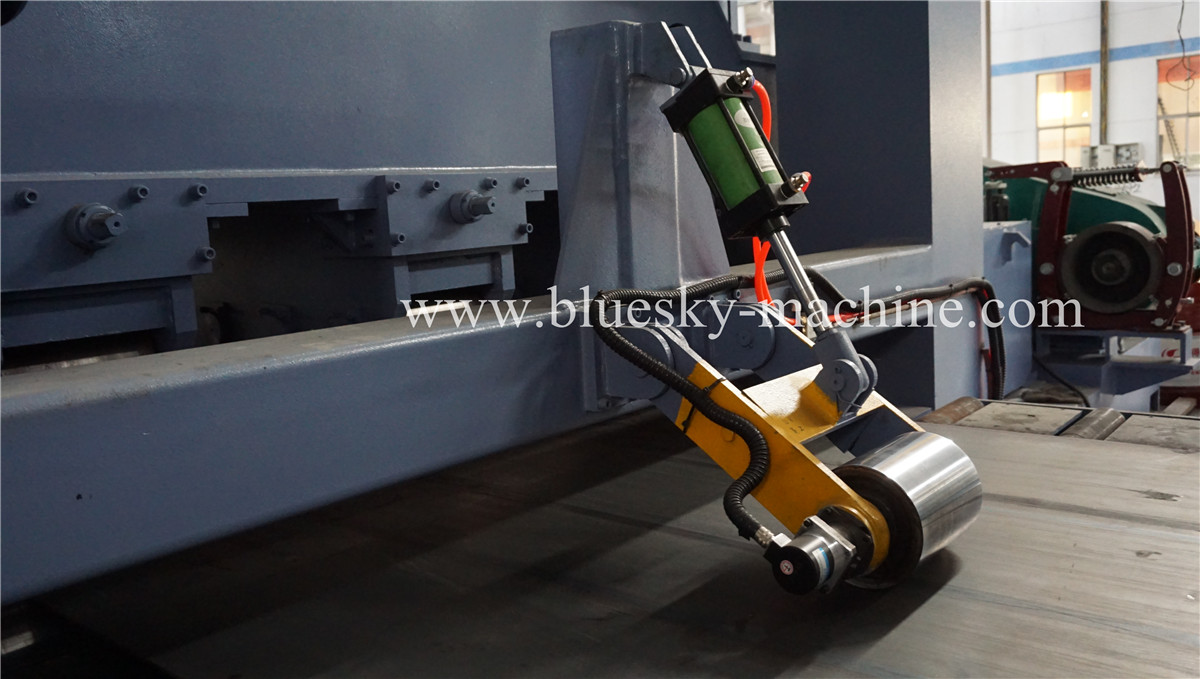HR Sheet Cut To Length Line Pneumatic length control device