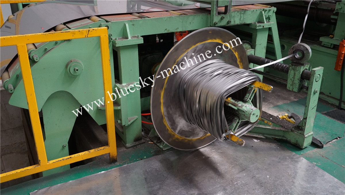 High Speed Stainless Steel Slitting Line Scrap Recoiler