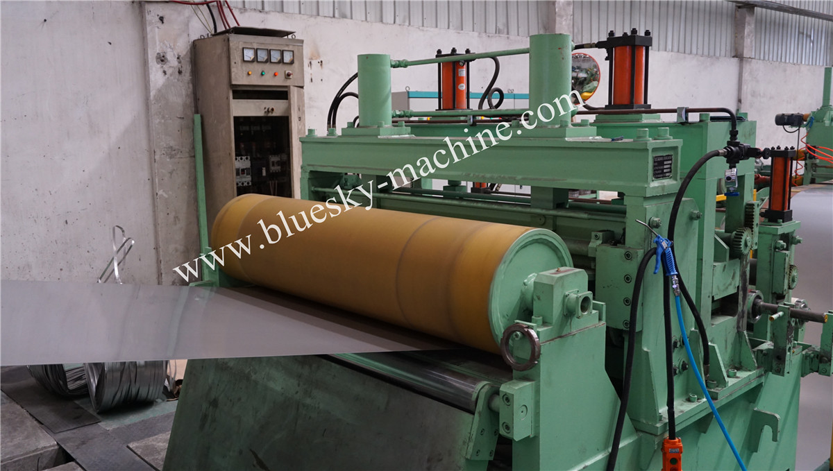 Stenless Steel Sliting Machine Sale In India Hydraulic Snubber Roll