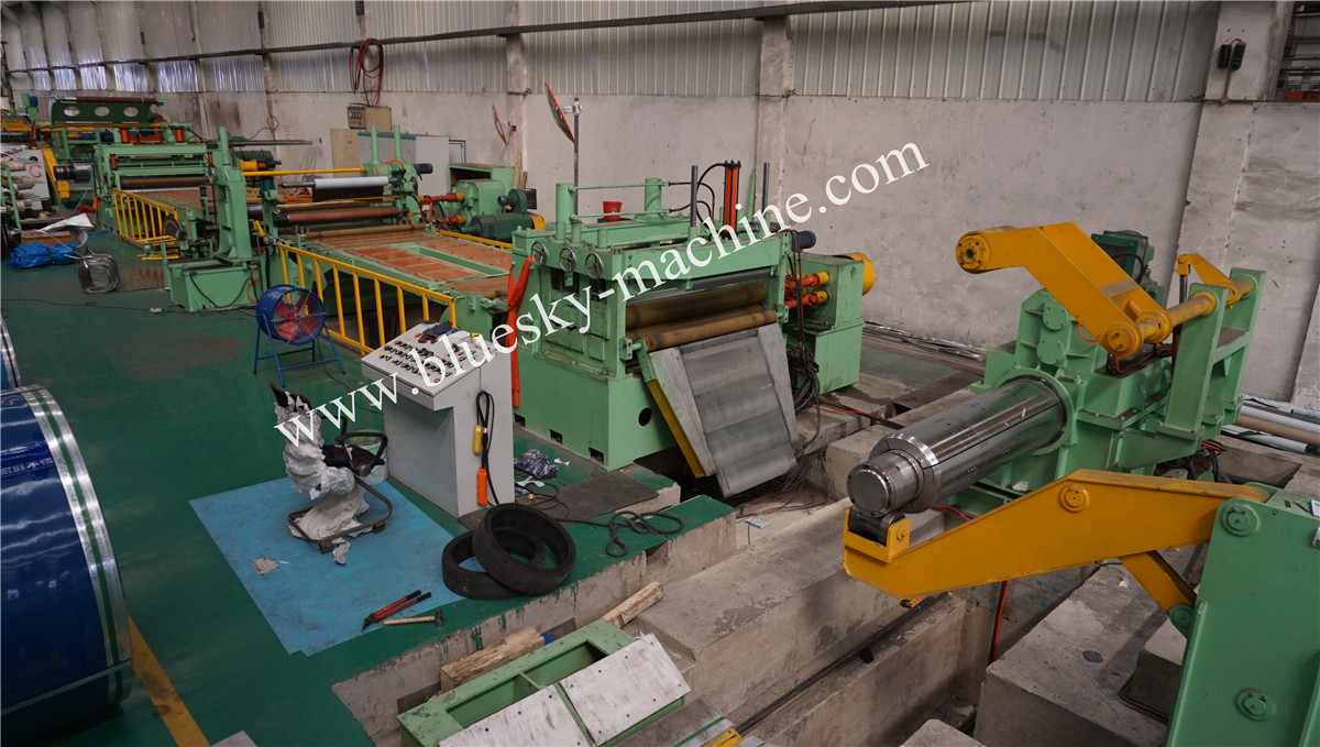 High Speed Stainless Steel Slitting Line Material Platform
