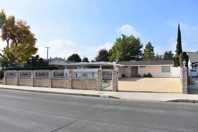 7439  North Lurline Avenue, William Krisel & Dan Palmer 1953