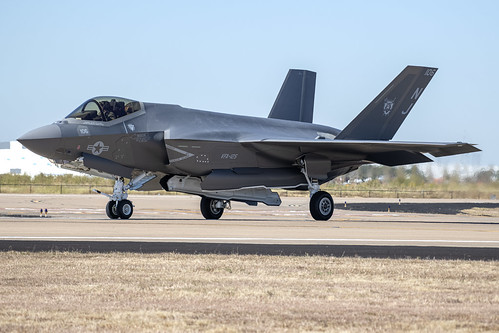 F-35C of VFA-125 Taxiing