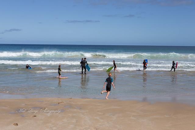 Beach fun (Sillys Beach Mt Greenly)