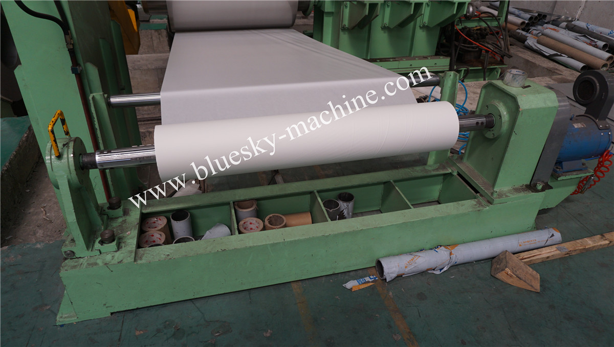 High Speed Stainless Steel Cut To Length Line Machine Paper Collector