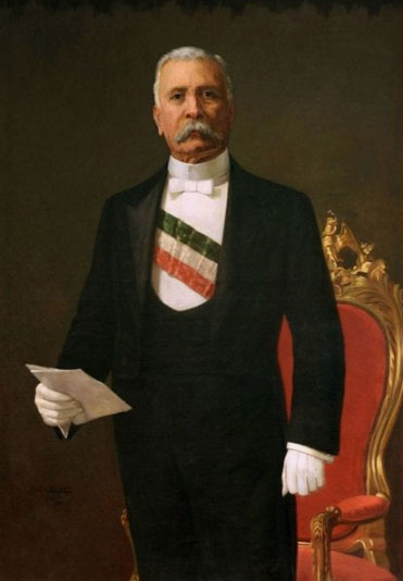 Retrato Porfirio Diaz